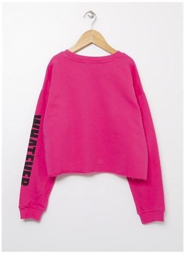 Funky Rocks Sweatshirt Fuşya